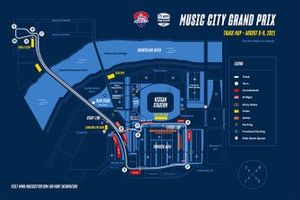 Music City Grand Prix track map
