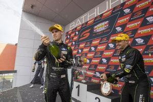 Podium: second place Cameron Waters, Will Davison, Tickford Racing