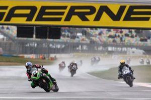 Lucas Mahias, Kawasaki Puccetti Racing, Kyle Smith, GMT94 Yamaha