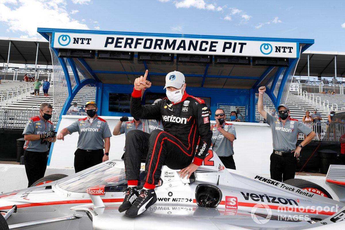 Premio al autor de la pole Will Power, Team Penske Chevrolet