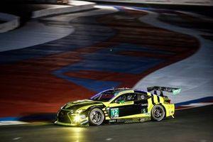 #12 AIM Vasser Sullivan Lexus RC-F GT3, GTD: Michael De Quesada, Townsend Bell