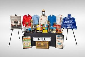 Phil Hill memorabilia