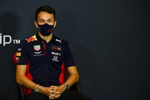 Alex Albon, Red Bull Racing, in a Press Conference