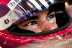Lance Stroll, Racing Point, in his cockpit
