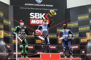 Lucas Mahias, Kawasaki Puccetti Racing, Andy Verdoia, bLU cRU WorldSSP by MS, Kyle Smith, GMT94 Yamaha
