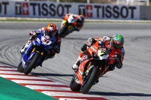 Chaz Davies, ARUBA.IT Racing Ducati, Garrett Gerloff, GRT Yamaha