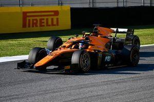 Guilherme Samaia, Campos Racing, leads Jack Aitken, Campos Racing