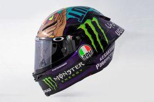 Franco Morbidelli, Petronas Yamaha SRT, nieuwe helm