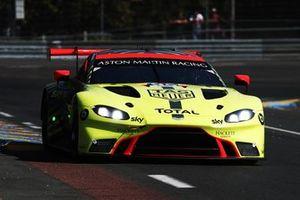 #95 Aston Martin Racing Aston Martin Vantage AMR: Nicki Thiim, Marco Sörensen, Richard Westbrook