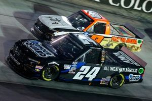 Sam Mayer, GMS Racing, Chevrolet Silverado Armour Guard, Codie Rohrbaugh, CR7 Motorsports, Chevrolet Silverado Pray for Joshua