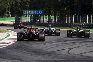 Pierre Gasly, AlphaTauri AT01, Esteban Ocon, Renault F1 Team R.S.20, and Max Verstappen, Red Bull Racing RB16