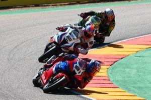 Leon Haslam, Team HRC, Tom Sykes, BMW Motorrad WorldSBK Team, Alex Lowes, Kawasaki Racing Team