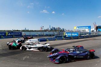 Daniel Abt, Audi Sport ABT Schaeffler, Audi e-tron FE05 Jose Maria Lopez, Dragon Racing, Penske EV-3, Sam Bird, Envision Virgin Racing, Audi e-tron FE05