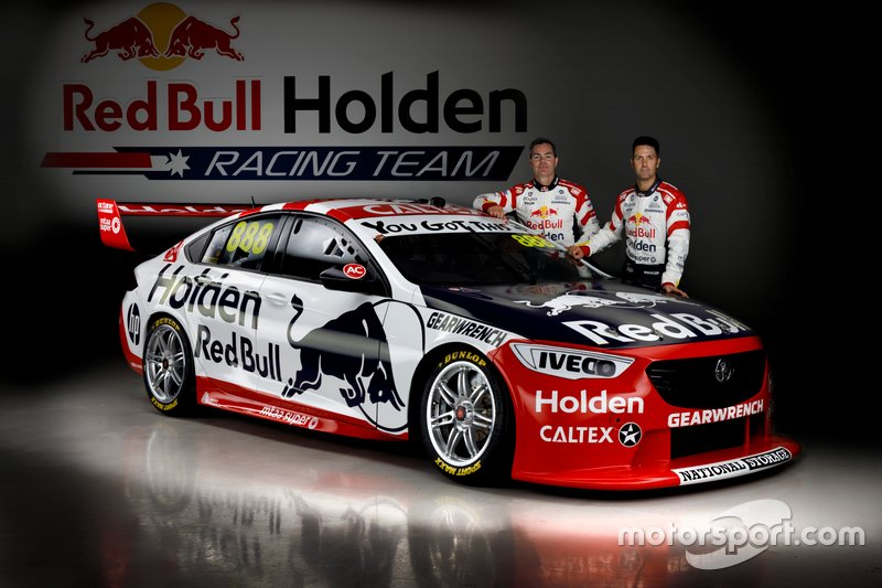 Jamie Whincup, Triple Eight Race Engineering and Craig Lowndes, Triple Eight Race Engineering