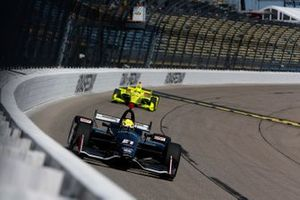 Spencer Pigot, Ed Carpenter Racing Chevrolet, Simon Pagenaud, Team Penske Chevrolet
