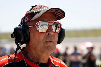 Kenny Szymanski ingegnere degli pneumatici di Sebastien Bourdais, Dale Coyne Racing con Vasser-Sullivan Honda