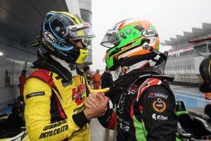 サッシャ・フェネストラズ(B-Max Racing with motopark)、エナム・アーメド(B-Max Racing with motopark)