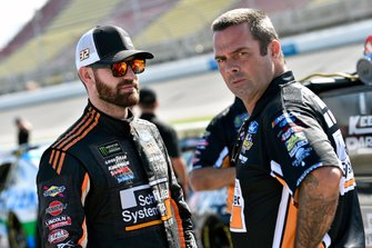 Corey LaJoie, Go FAS Racing, Ford Mustang Schluter Systems and Randy Cox