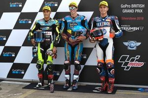 Polesitter Alex Marquez, Marc VDS Racing, tweede Jorge Navarro, Speed Up Racing, derde Augusto Fernandez, Pons HP40
