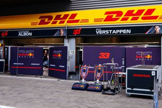 Red Bull Racing garage