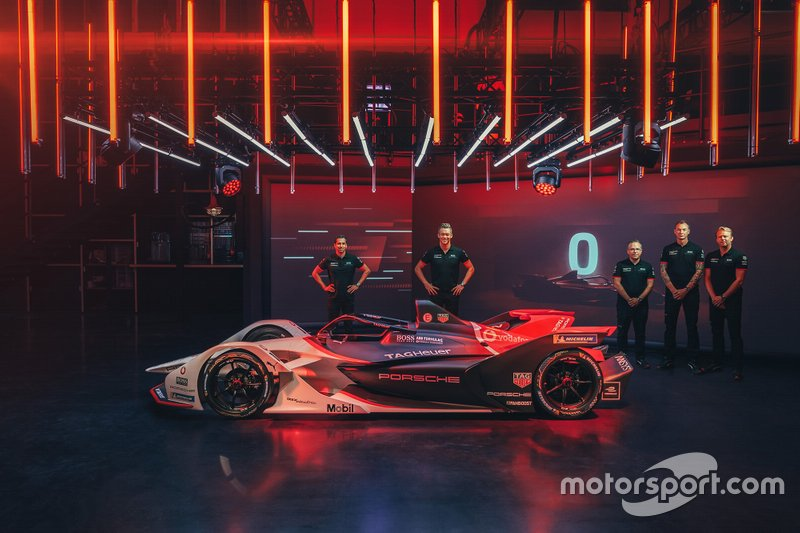 Porsche Formula E team, 99X Electric livery