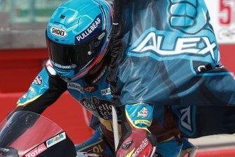Tercer lugar Alex Marquez, Marc VDS Racing