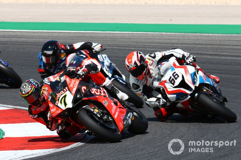 Chaz Davies, Aruba.it Racing-Ducati Team, Tom Sykes, BMW Motorrad WorldSBK Team