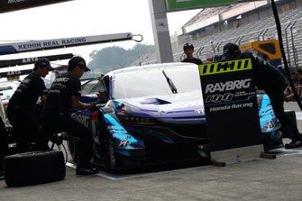#1 Team Kunimitsu Honda NSX-GT
