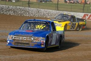 Justin Shipley, Jacob Wallace Racing, Ford F-150 Rogers and Grant Enfinger, ThorSport Racing, Ford F-150 Champion Power Equipment
