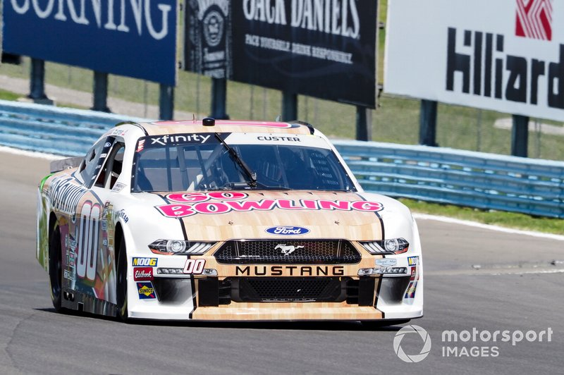 Cole Custer, Stewart-Haas Racing, Ford Mustang GoBowling