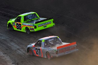 Matt Crafton, ThorSport Racing, Ford F-150 Ideal Door/Menards and Chase Briscoe, ThorSport Racing, Ford F-150 DiaEdge