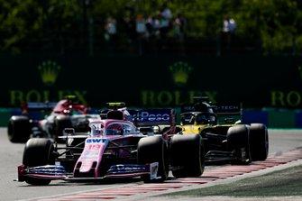 Lance Stroll, Racing Point RP19, Daniel Ricciardo, Renault F1 Team R.S.19, Antonio Giovinazzi, Alfa Romeo Racing C38