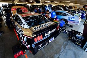 Aric Almirola, Stewart-Haas Racing, Ford Mustang Go Bowling, Ryan Blaney, Team Penske, Ford Mustang PPG