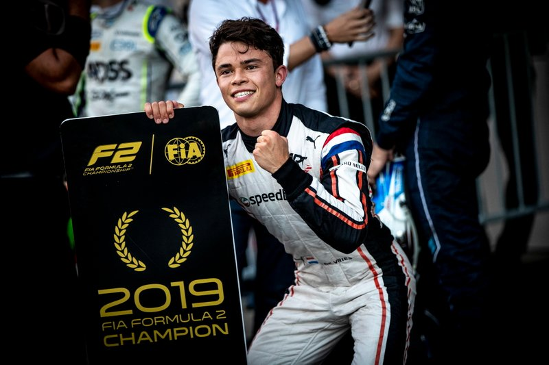 Fórmula 2, pilotos: Nyck De Vries
