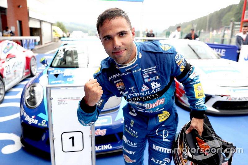 Il vincitore della gara Dylan Pereira, Momo Megatron Lechner Racing