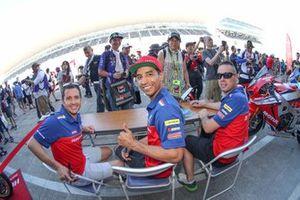 Randy De Puniet, Yonny Hernandez, Sebastien Gimbert, Honda Endurance Racing