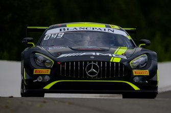 #43 Strakka Racing Mercedes-AMG GT3: Richard Heistand, Christina Nielsen, David Fumanelli, Jack Hawksworth