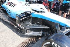 Williams FW42 sidepods detail