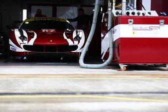 Автомобиль Ferrari 488 GTE Evo (№62) команды Weathertech Racing