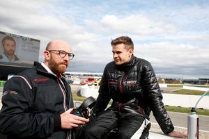 Vincent Vosse, Teambaas Audi Sport Team WRT met Jonathan Aberdein, Audi Sport Team WRT