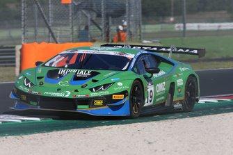 #19 Lamborghini Huracan GT3 Evo GT3 PRO-AM, Imperiale Racing: Perolini-Gersekowski-Zonzini