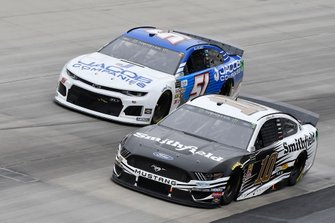 Aric Almirola, Stewart-Haas Racing, Ford Mustang Smithfield, Austin Theriault, Petty Ware Racing, Ford Mustang JACOB COMPANIES
