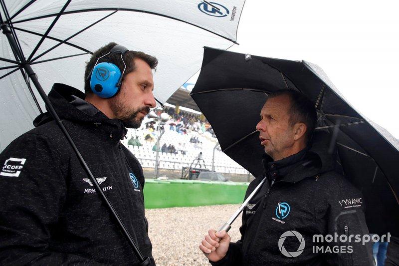 Руководитель R-Motorsport и основатель AF Racing AG Флориан Камельгер и Андреас Бенцигер