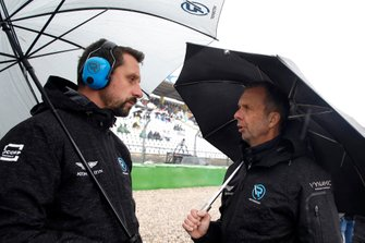 Dr. Florian Kamelger, Founder and owner AF Racing AG and Team principal R-Motorsport and Andreas Baenziger