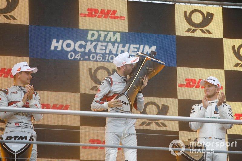 Champion ship Podium: Champion René Rast, Audi Sport Team Rosberg
