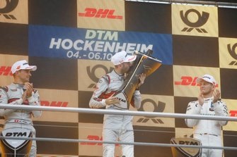 Champion ship Podium: Champion René Rast, Audi Sport Team Rosberg