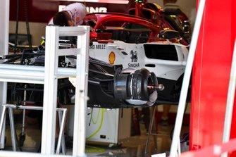 Frenos delanteros del Alfa Romeo Racing C38