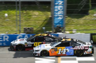 Matt DiBenedetto, Leavine Family Racing, Toyota Camry Toyota Express Maintenance, Clint Bowyer, Stewart-Haas Racing, Ford Mustang Toco Warranty/Haas Automation