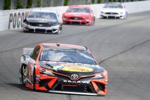 Martin Truex Jr., Joe Gibbs Racing, Toyota Camry Bass Pro Shops/Tracker Off Road, Aric Almirola, Stewart-Haas Racing, Ford Mustang Smithfield