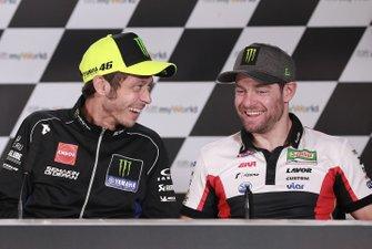 Валентино Росси, Yamaha Factory Racing, и Кэл Кратчлоу, LCR Honda Castrol